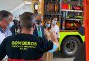 El parque de bomberos de Nerja amplía su flota para completar el espectro de intervenciones en ámbito rural, forestal y urbano